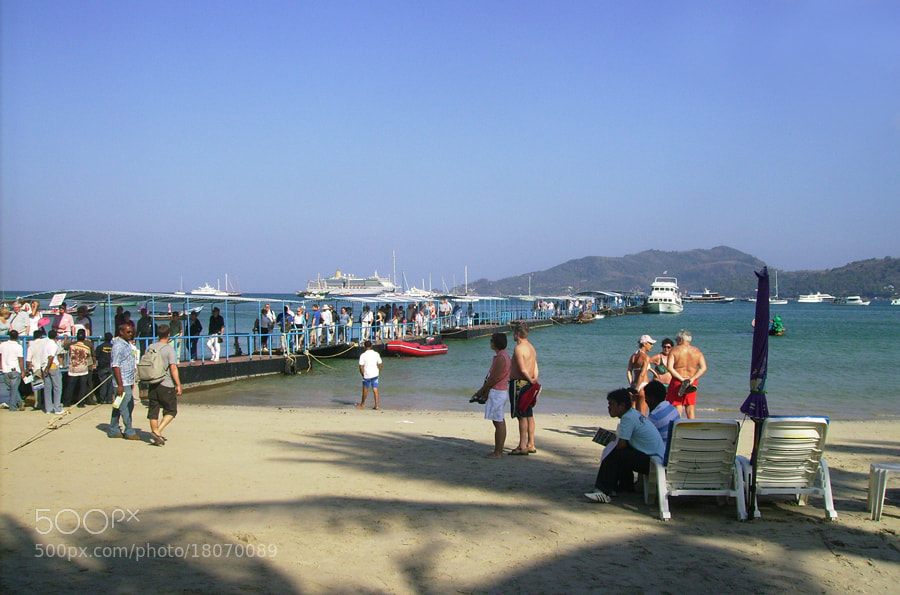 Photograph Patong Beach 2 ( Phucket ) by Khoo Boo Chuan on 500px