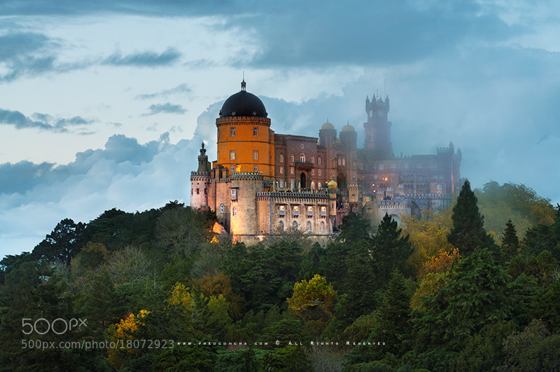 Photograph Palácio da Pena by Fred Concha on 500px