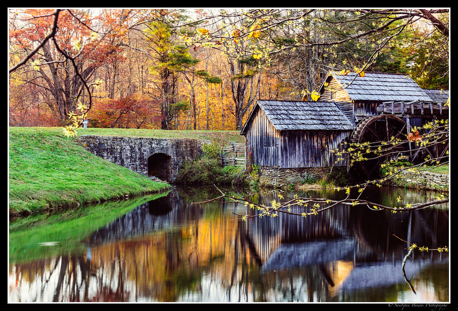 Old mill on the Blue Ridge Parkway by Sandipan Biswas on 500px.com