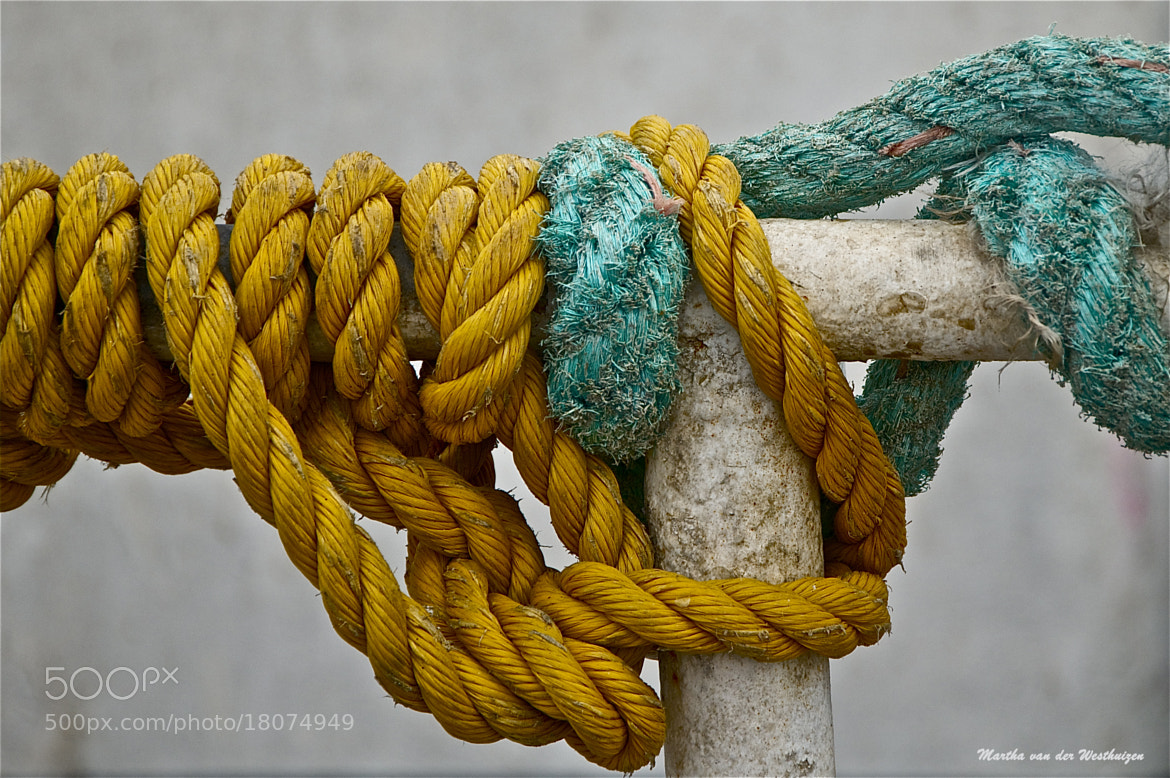 Photograph Boat Ropes by Martha van der Westhuizen on 500px