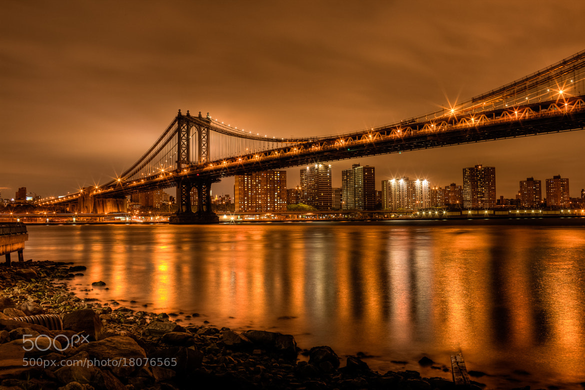 Photograph Manhattan Bridge, NY by Dave Wright on 500px