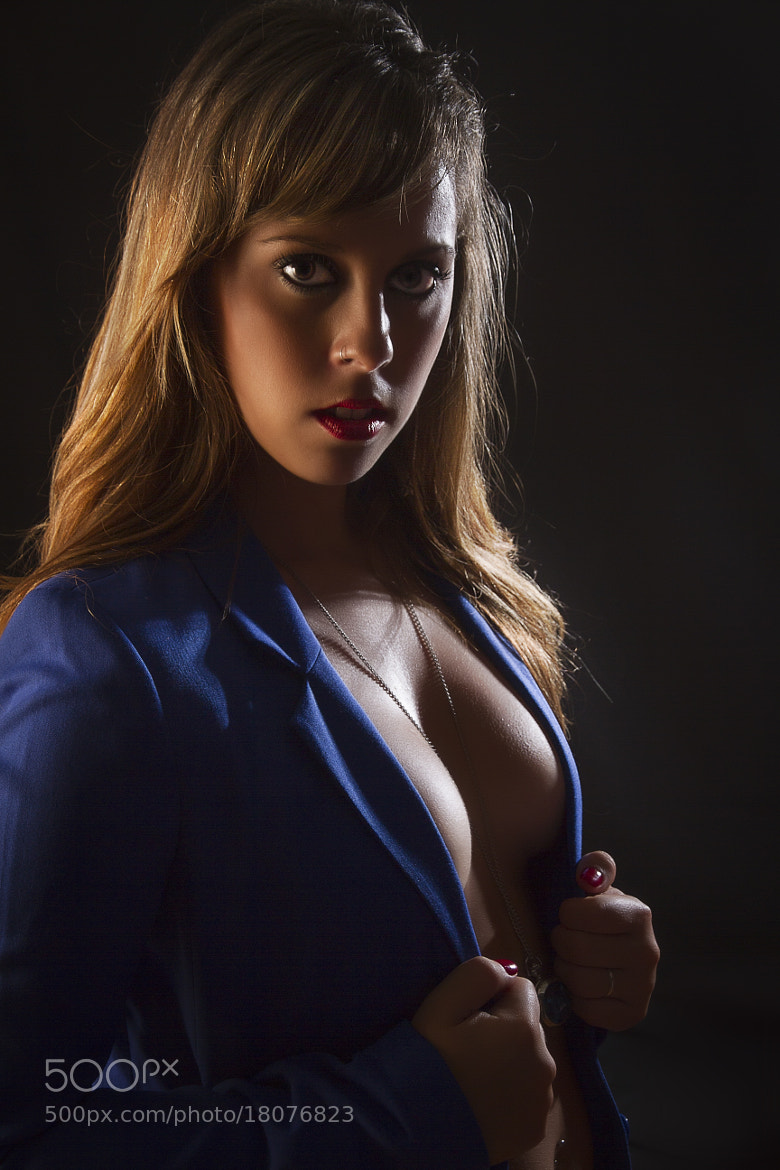 Photograph Sexy blue jacket by Joey Mena on 500px