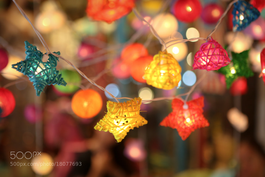 Chiang Mai Lights by Christine Gilbert (AlmostFearless) on 500px.com