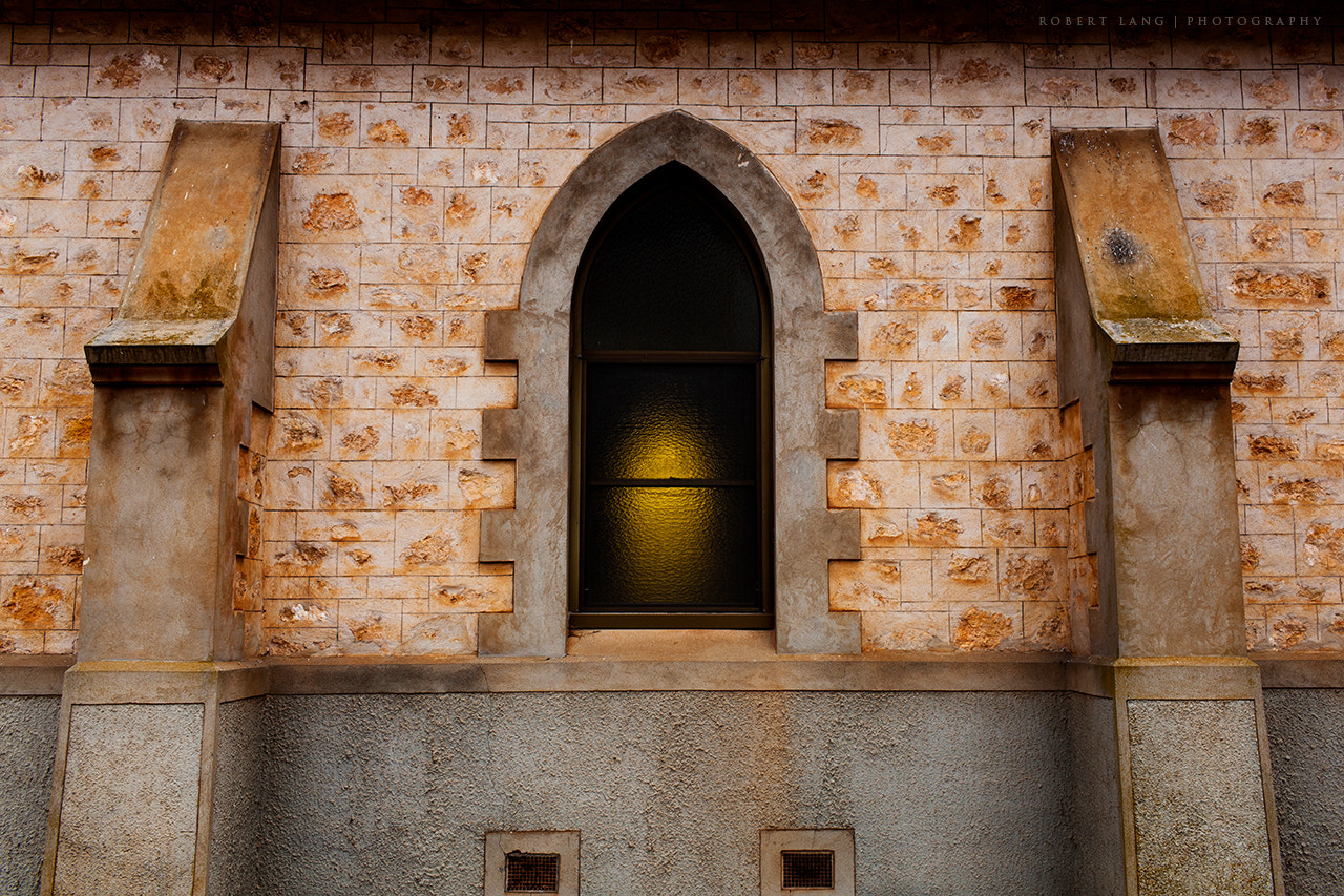 Photograph Church wall and window, Australia by Robert Lang on 500px
