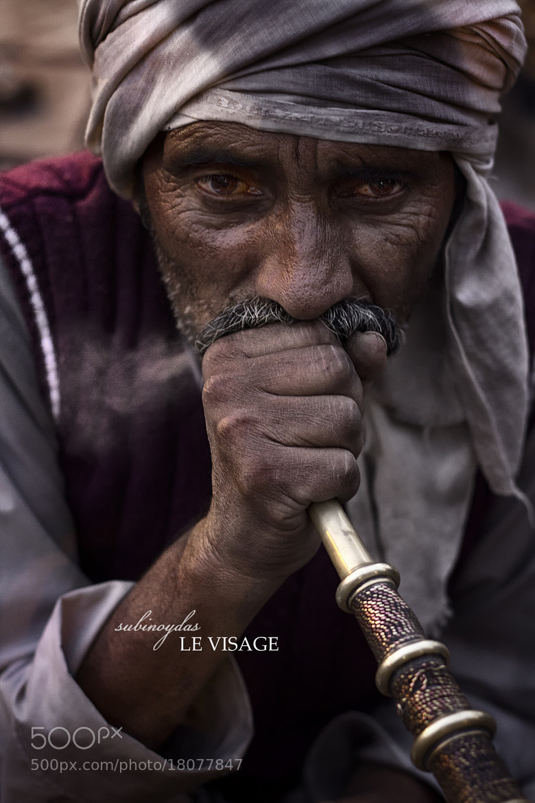 Photograph Le Visage by Subinoy Das on 500px