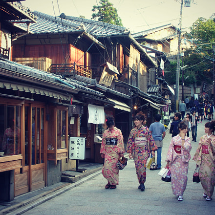 Traditional outfit in Kyoto, Nikon S1