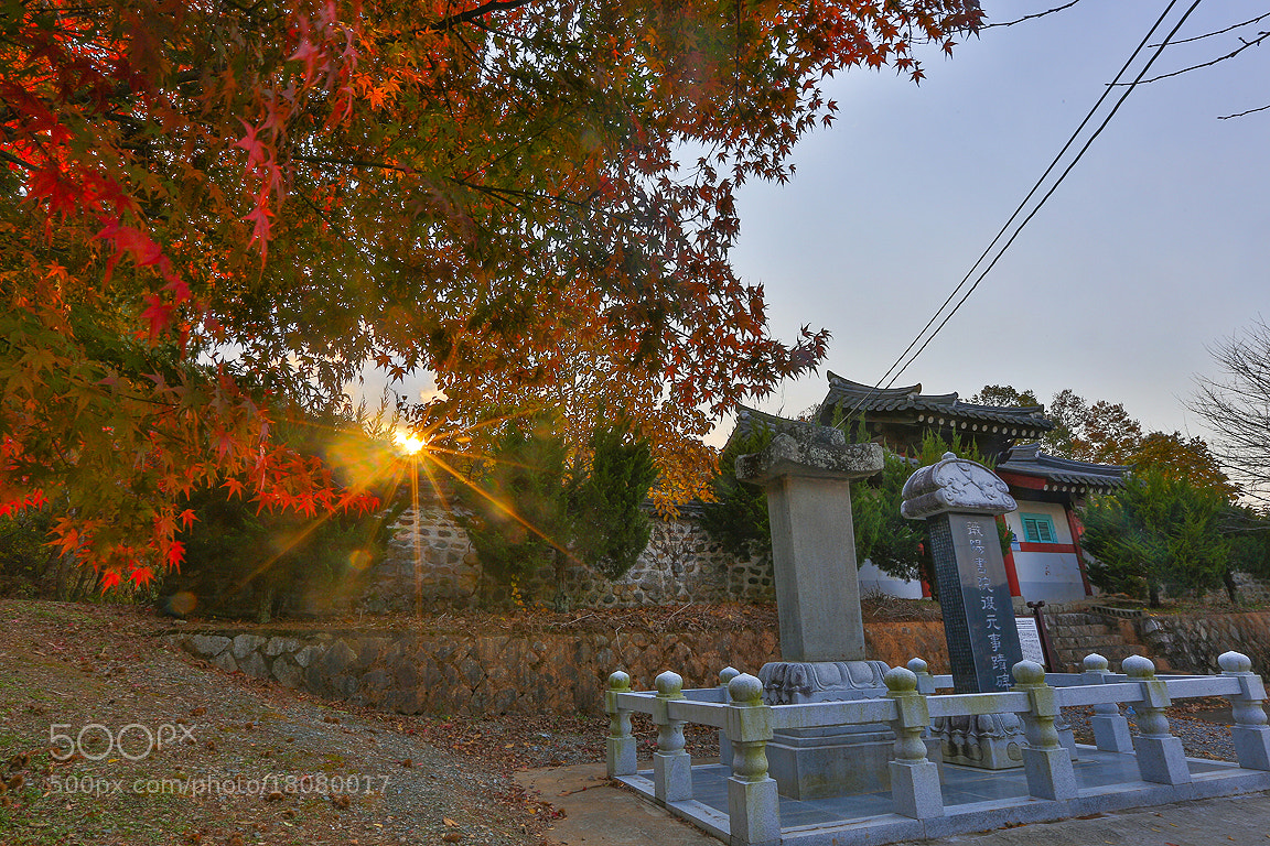 Photograph The fall of the shrine by Lee Kyeong Hwan on 500px