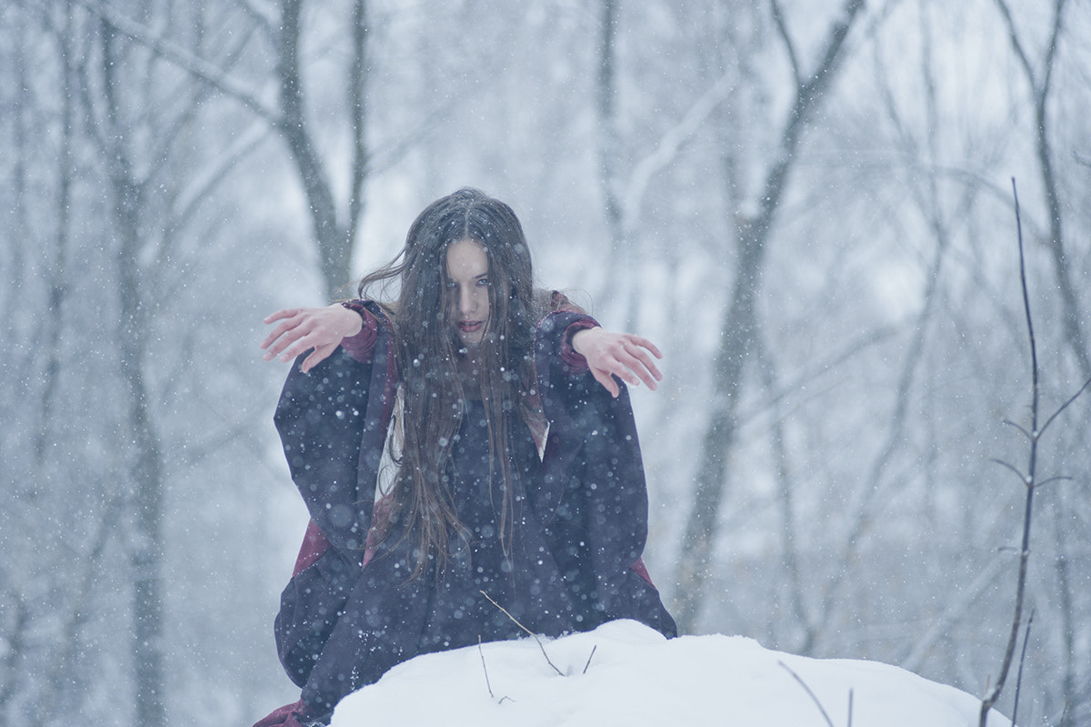 "Photograph Winter witch I by Dmitry ""ErynSidhe"" Pimenov on 500px"