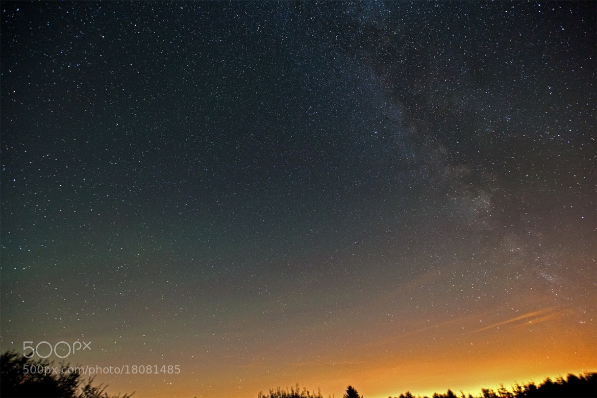 Photograph airglow & milkyway by Achim Heep on 500px