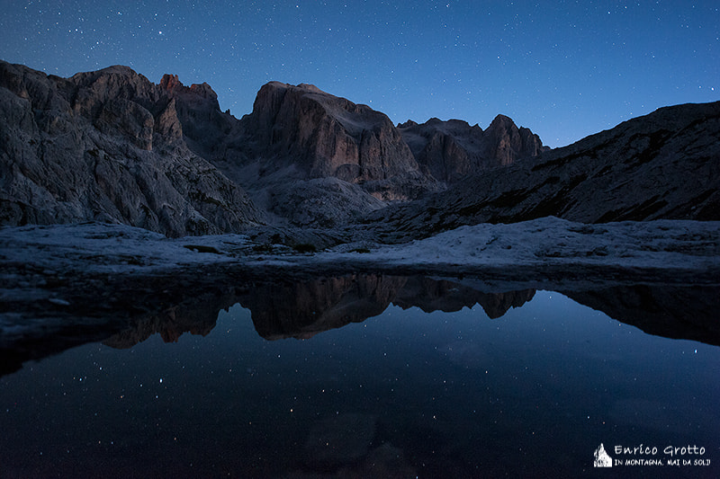 Photograph The End Of The Night   Dolomites by Enrico Grotto on 500px