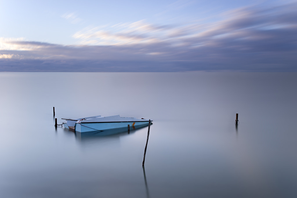 Photograph The boat by Sarah Martinet on 500px