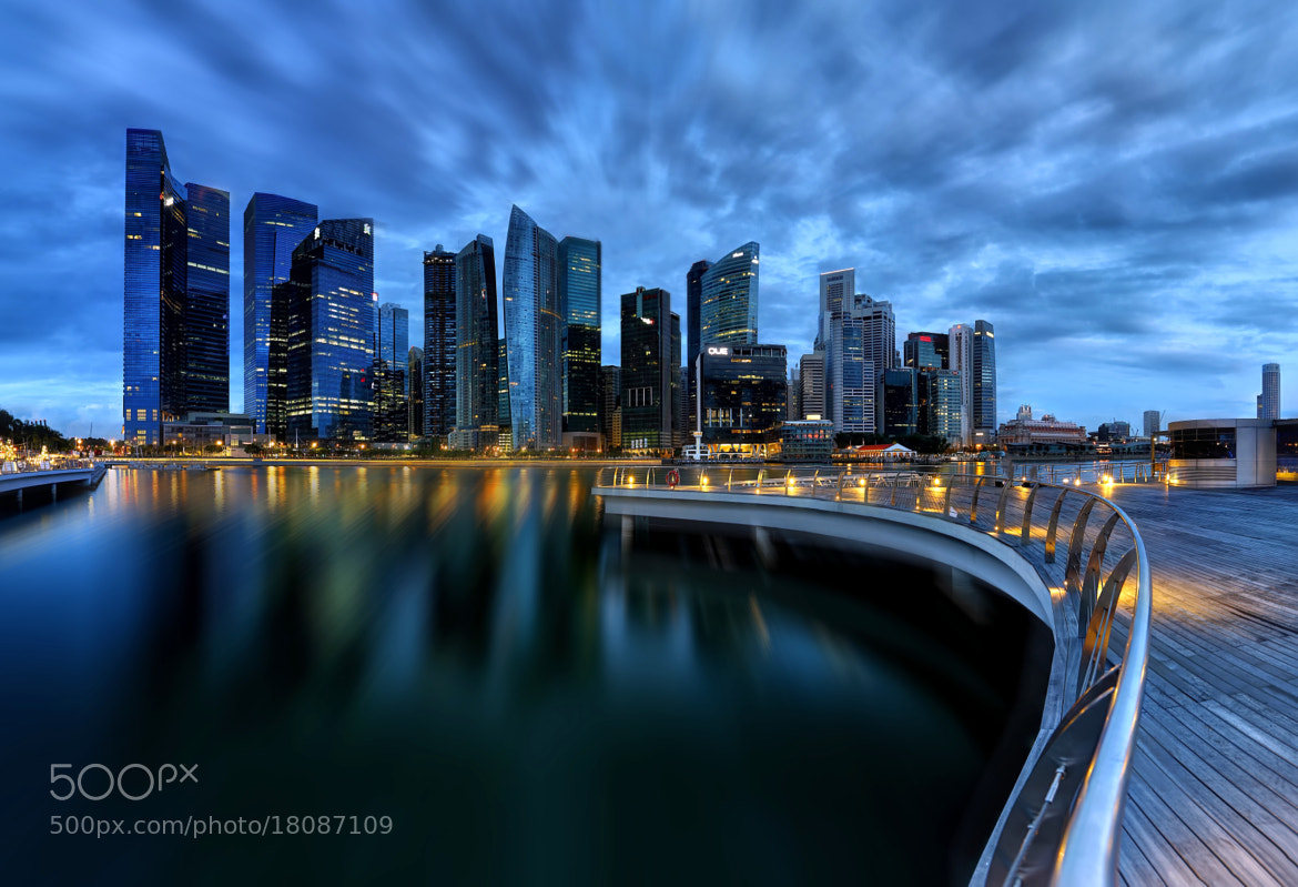 Photograph Blue City by Vince Chong on 500px