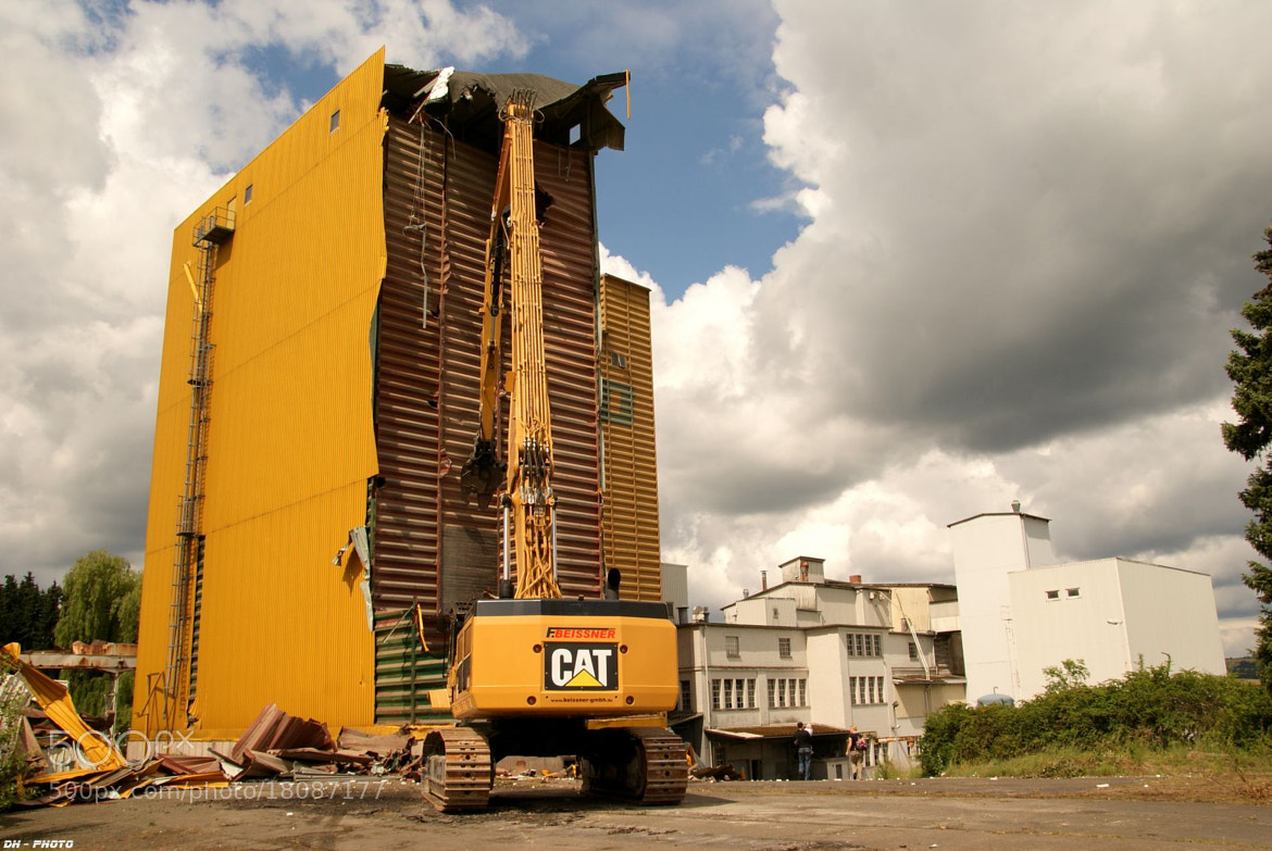 Photograph Demolition work with CAT-Power_01 by Klaus Heinemann on 500px