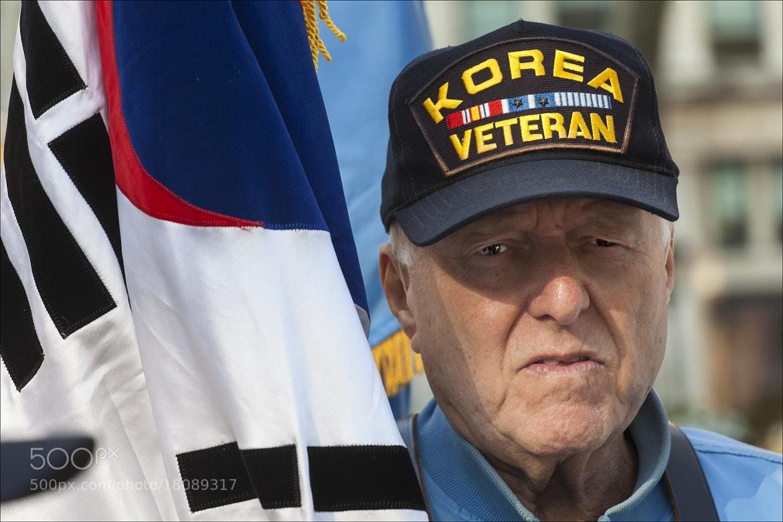Photograph Veterans Day NYC 2012 11 11 12 29 Korean War Vet by Robert Ullmann on 500px