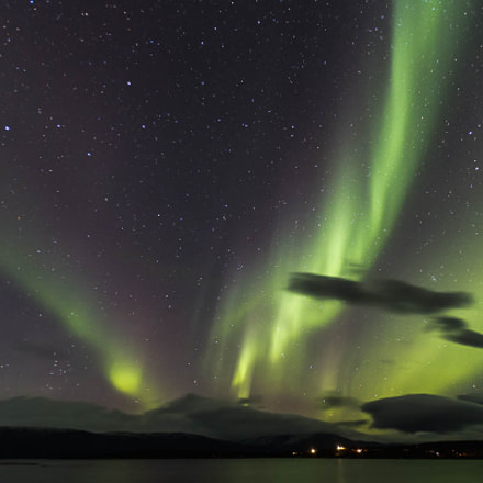 Northern lights at Sweden, Canon EOS 6D, Tamron SP AF 17-35mm f/2.8-4 Di LD Aspherical IF