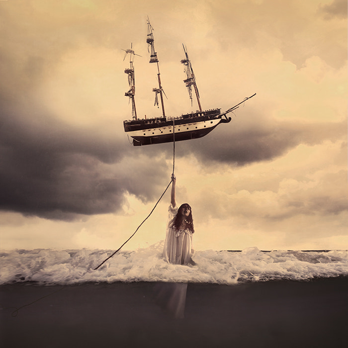 Photograph The Tide that Takes Us by Brooke Shaden on 500px