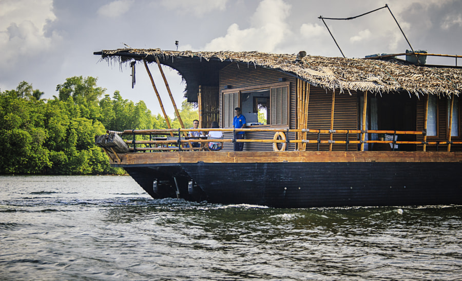 House Boat on the Bentara River, Sri Lanka by Son of the Morning Light on 500px.com