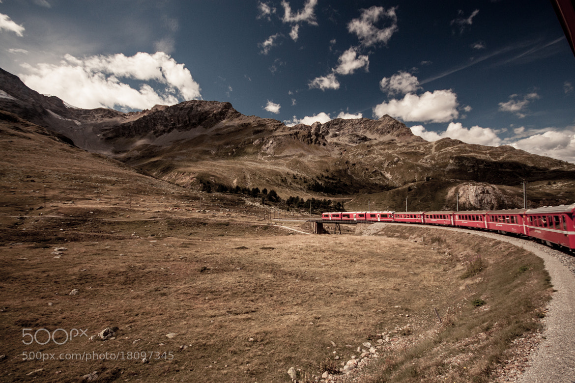 Photograph Bernina Express by Bimal Tailor on 500px