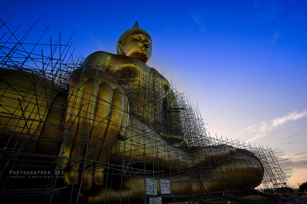 Photograph Big Buddha by Dee Bunpha on 500px
