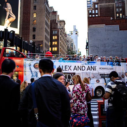 New york tour bus, Canon EOS 6D, Canon EF 28mm f/2.8 IS USM