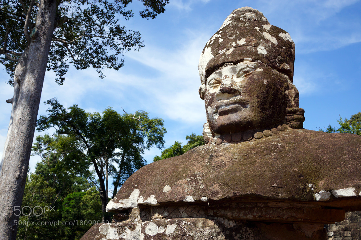Photograph Gurads of Bayon by Norman Grande on 500px