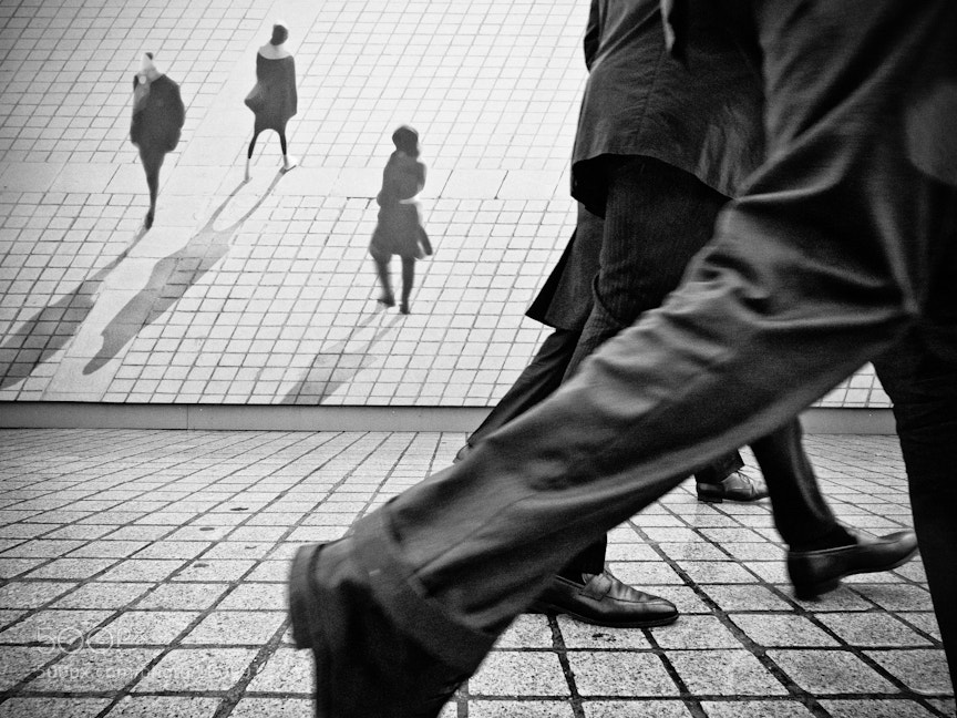 Photograph Walkers by Walter  Shin on 500px