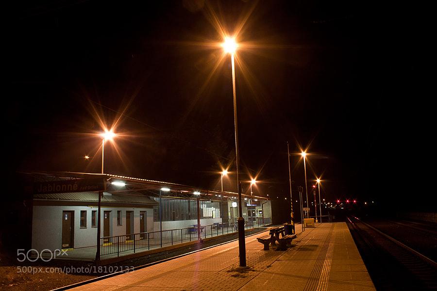 Photograph silence on the station.. by Soňa Kovalčíková on 500px