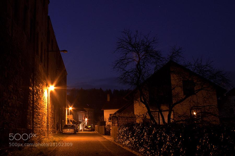 Photograph evening lights by Soňa Kovalčíková on 500px