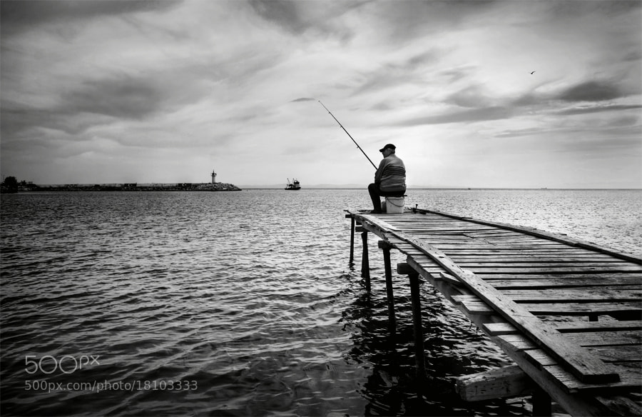 Photograph fisherman by Timucin Toprak on 500px