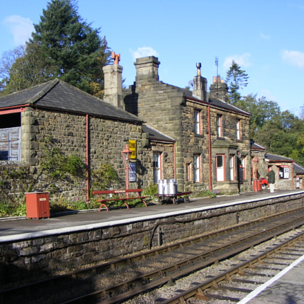 Goathland Station Aidensfield and, Fujifilm FinePix S5800 S800