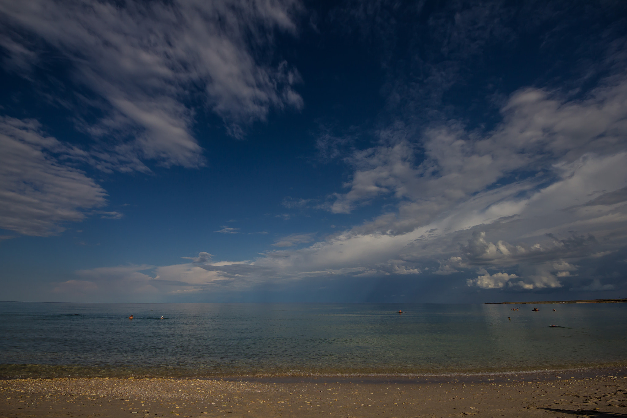 Photograph Blue sky on the sea by Fedor Petrovskiy on 500px