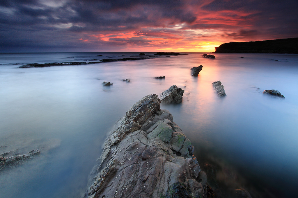 Photograph Collywell Bay by Alistair Bennett on 500px