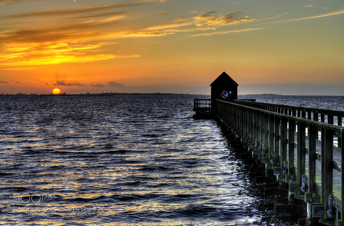Photograph Sunset in November by Kim Schou on 500px