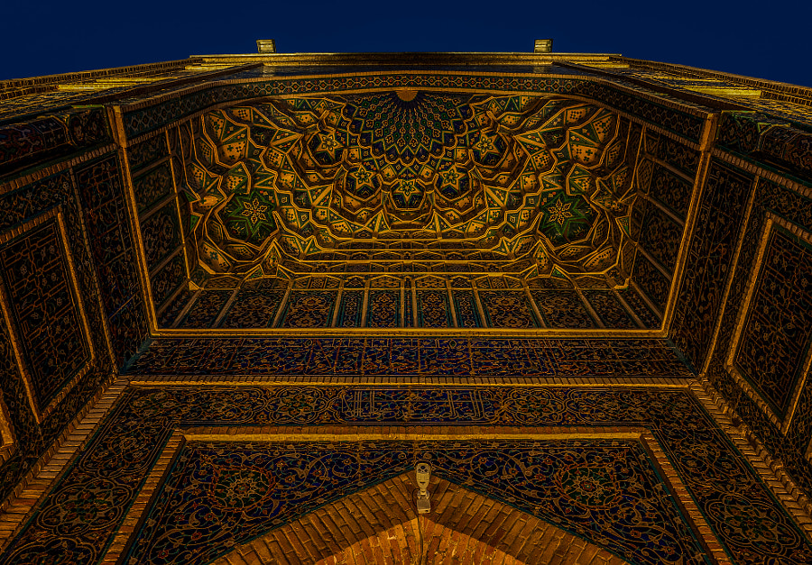 Samarkand Gur-Emir-Mausoleum II by Matthias Arnold on 500px.com