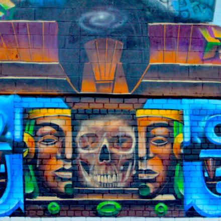 Street Art by @oneLnyc, Canon EOS REBEL T2I, Tamron AF 19-35mm f/3.5-4.5