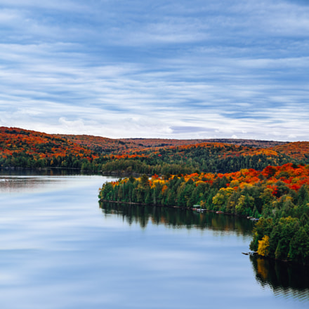 Fall foliage in Algonquin, Canon EOS 5D, Canon EF 28-200mm f/3.5-5.6 USM