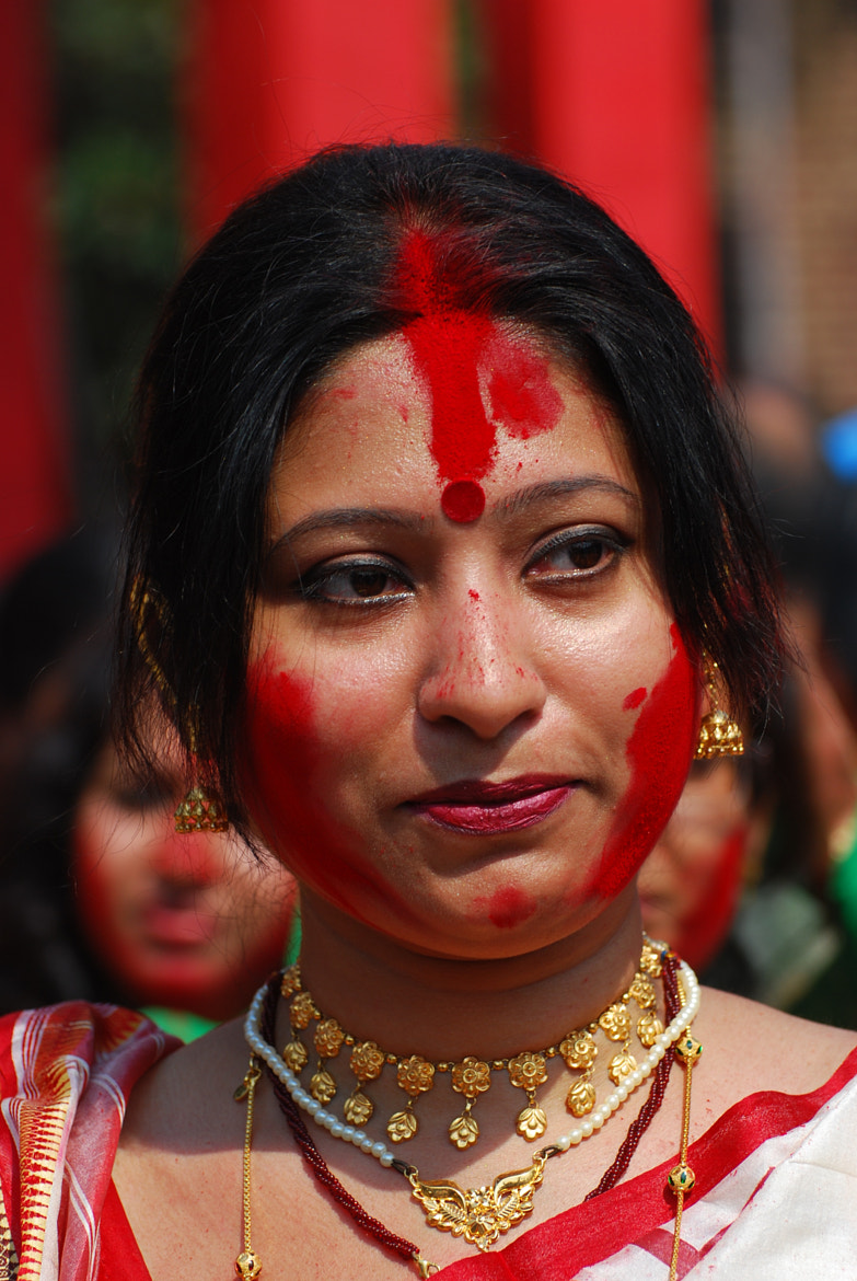 Photograph Game of vermillion(Bengali- sindur khela) by tushar das on 500px