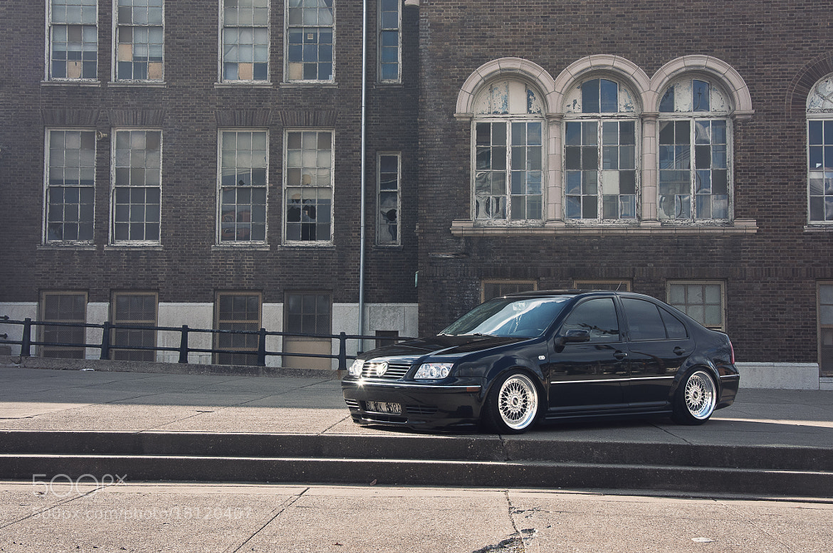 Photograph Tim's Jetta by Logan McWilliams on 500px