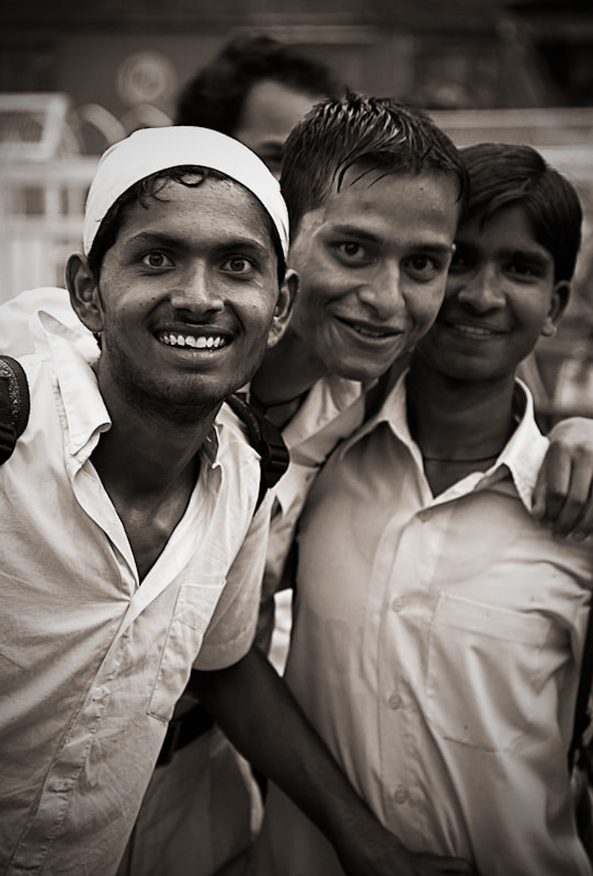 Photograph Old Delhi boys by Vero Nick on 500px