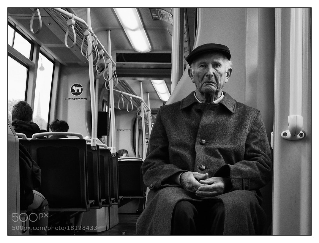 Photograph In the Tram... by karl aster on 500px