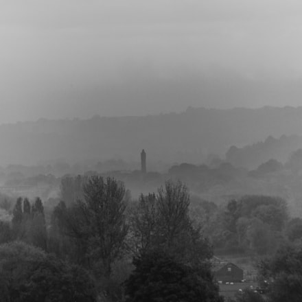 Chevin Mill Mist, Canon EOS 550D, Sigma 50-200mm f/4-5.6 DC OS HSM