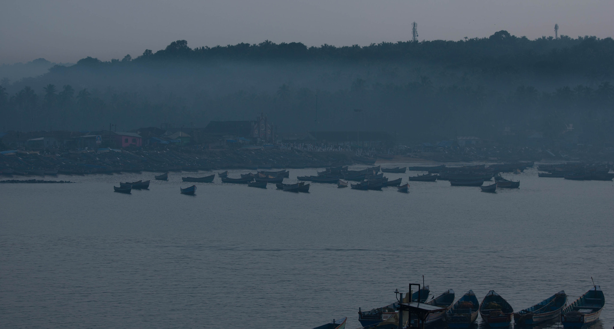 Photograph Morning in Vizhinjam port by Rahul Mohan on 500px