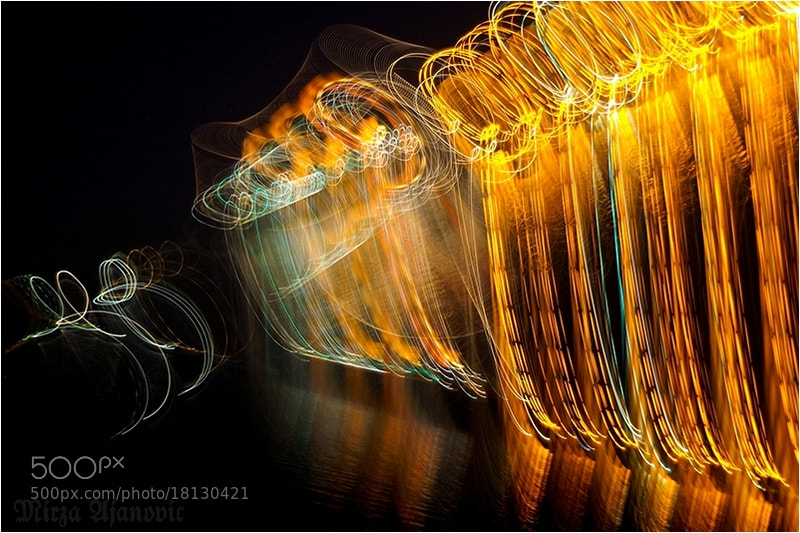 Photograph Painting MUSIC with Light 4 by Mirza Ajanovic on 500px