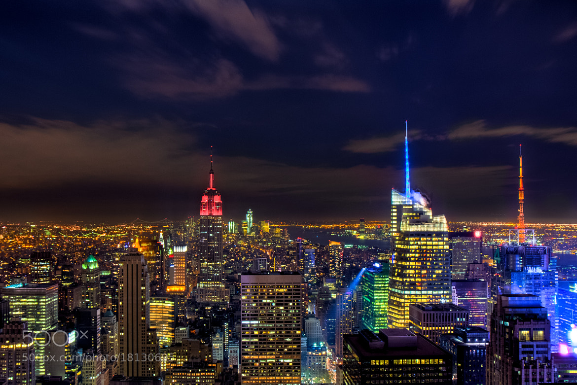 Photograph NYC night view by ZB Tan on 500px