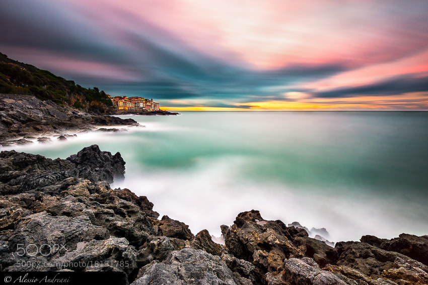 Photograph Flowing Sunrise by Alessio Andreani on 500px