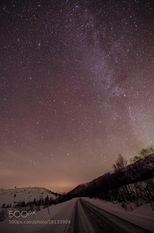 Photograph Milky Way by Kolbein Svensson on 500px