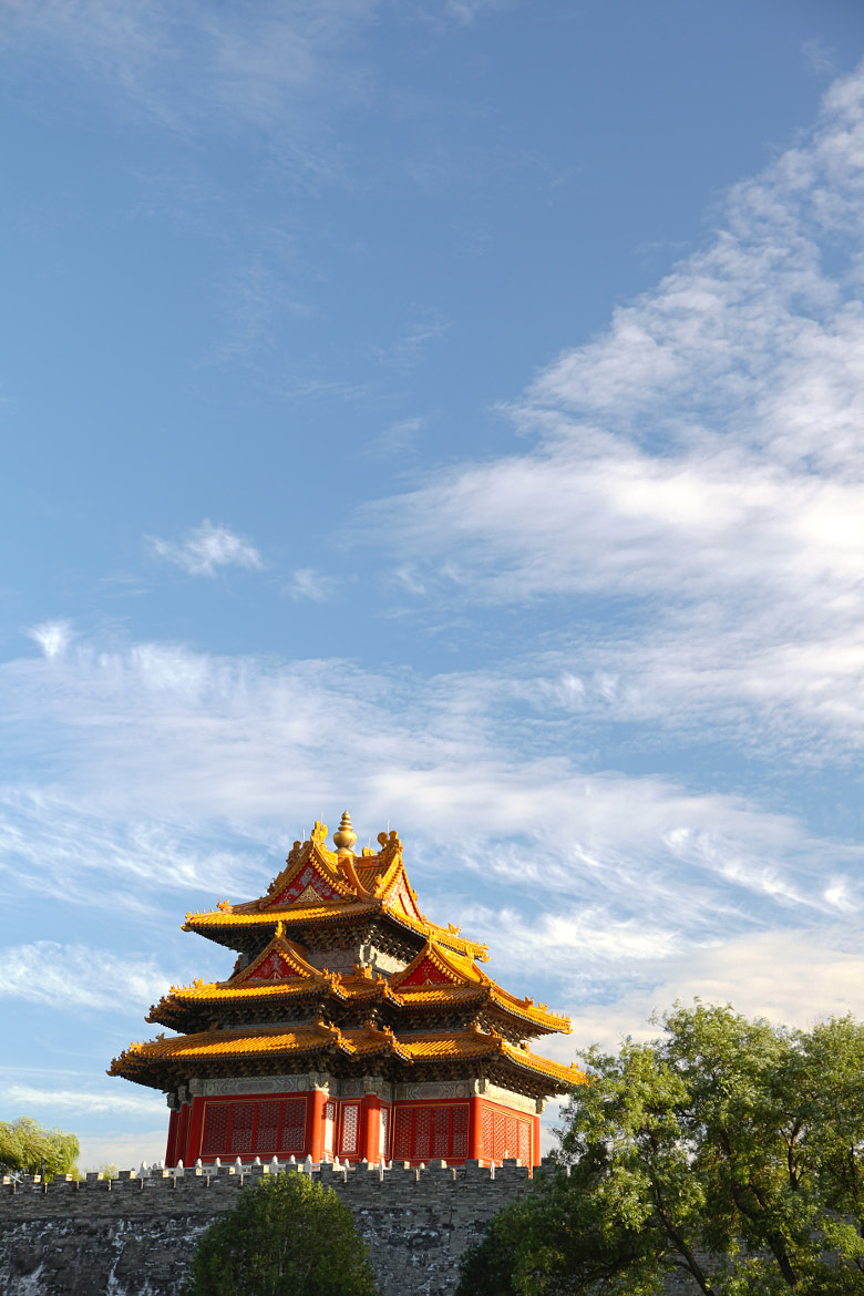 Photograph Corner of the Forbidden City by Fan Wang on 500px