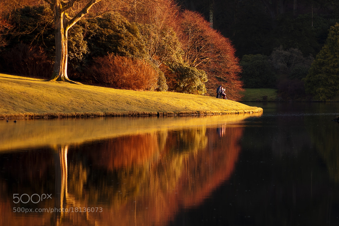 Photograph Getting to the point! Stourhead by Chris Spracklen on 500px