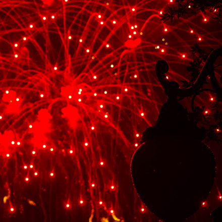 Fireworks, Canon EOS 700D, Sigma 55-200mm f/4-5.6 DC