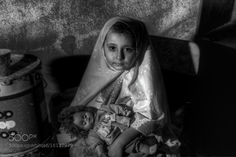 Photograph with my Doll by Mohammed Abdo on 500px
